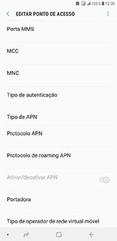 Samsung Galaxy J8 - Internet (APN) - Como configurar a internet do seu aparelho (APN Nextel) - Etapa 12