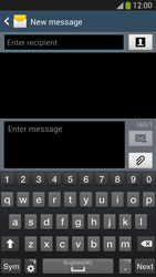 Samsung Galaxy S4 VE - Mms - Sending a picture message - Step 4