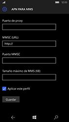 Microsoft Lumia 950 - Mensajería - Configurar el equipo para mensajes multimedia - Paso 11