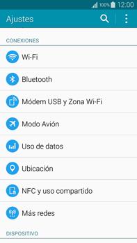 Samsung N910F Galaxy Note 4 - Mensajería - Configurar el equipo para mensajes multimedia - Paso 4