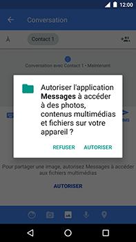 Motorola Moto E4 Plus - Contact, Appels, SMS/MMS - Envoyer un MMS - Étape 13