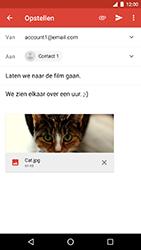LG Nexus 5X - Android Oreo - E-mail - e-mail versturen - Stap 14