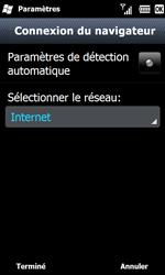 Samsung B7610 Omnia Qwerty - Internet - configuration manuelle - Étape 18