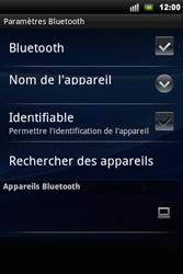 Sony Ericsson Xperia Mini Pro - Bluetooth - connexion Bluetooth - Étape 9