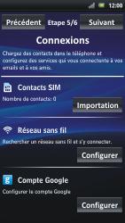 Sony Ericsson Xpéria Arc - Premiers pas - Créer un compte - Étape 28