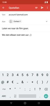 Nokia 7-1-dual-sim-ta-1095 - E-mail - Bericht met attachment versturen - Stap 9