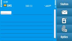 Nokia N97 - MMS - Afbeeldingen verzenden - Stap 6