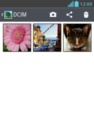 LG Optimus L3 II - Bluetooth - Transferir archivos a través de Bluetooth - Paso 5