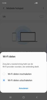 Samsung Galaxy S10 - Internet - mijn data verbinding delen - Stap 7