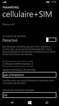 Microsoft Lumia 640 XL - Internet - Activer ou désactiver - Étape 6