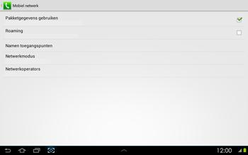 Samsung P5100 Galaxy Tab 2 10-1 - Netwerk - Handmatig netwerk selecteren - Stap 9