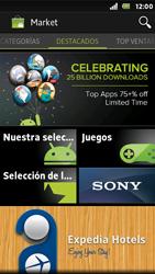 Sony Xperia U - Aplicaciones - Descargar aplicaciones - Paso 4