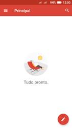 Lenovo Vibe C2 - Email - Como configurar seu celular para receber e enviar e-mails - Etapa 13