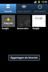 Samsung S5830i Galaxy Ace i - Internet - hoe te internetten - Stap 9