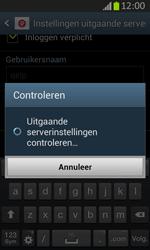 Samsung S7710 Galaxy Xcover 2 - E-mail - e-mail instellen: IMAP (aanbevolen) - Stap 16
