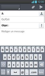 LG P710 Optimus L7 II - E-mail - envoyer un e-mail - Étape 4