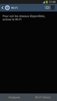 Samsung Galaxy Note 3 - Internet et connexion - Accéder au réseau Wi-Fi - Étape 5