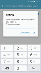 Samsung Galaxy S7 - Beveiliging en ouderlijk toezicht - Pincode simkaart wijzigen - Stap 9