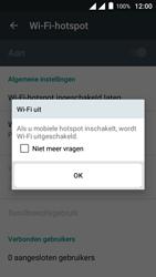 Alcatel Pixi 4 (5) 4G (5045X) - WiFi - Mobiele hotspot instellen - Stap 11