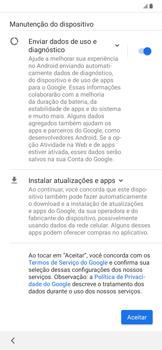 Samsung Galaxy A20 - Primeiros passos - Como ativar seu aparelho - Etapa 13