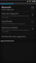 Sony LT22i Xperia P - Bluetooth - connexion Bluetooth - Étape 8