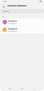 Samsung galaxy-s9-plus-sm-g965f-android-pie - Contacten en data - Contacten kopiëren van toestel naar SIM - Stap 9