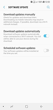 Samsung Galaxy A8 (2018) - Device - Software update - Step 6
