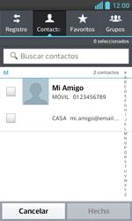 LG Optimus L5 II - Mensajería - Escribir y enviar un mensaje multimedia - Paso 6
