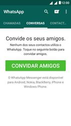 """Alcatel Pixi 4 (5"""") - Aplicações - Como configurar o WhatsApp -  9"""