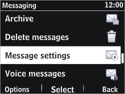 Nokia Asha 302 - Settings - Configuration message received - Step 8