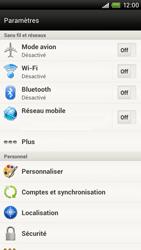 HTC S720e One X - Réseau - utilisation à l'étranger - Étape 7