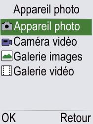 Doro Phone Easy 621 - Photos, vidéos, musique - Prendre une photo - Étape 3