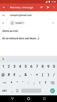 Nokia 6 (2018) - E-mail - envoyer un e-mail - Étape 8