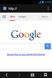 Acer Liquid Z3 - Internet - Internet browsing - Step 5
