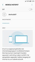 Samsung Galaxy Xcover 4 (SM-G390F) - WiFi - Mobiele hotspot instellen - Stap 11