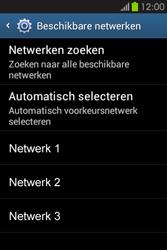 Samsung S6810P Galaxy Fame - Netwerk - gebruik in het buitenland - Stap 10