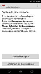 Sony Xperia E4 - Email - Adicionar conta de email -  10
