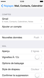 Apple iPhone 5c iOS 8 - E-mail - Configuration manuelle (gmail) - Étape 10