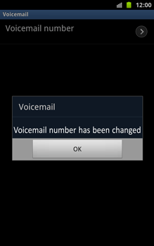 Samsung N7000 Galaxy Note - Voicemail - Manual configuration - Step 8