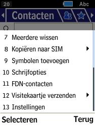 Samsung Xcover 550 (SM-B550H) - Contacten en data - Contacten kopiëren van toestel naar SIM - Stap 5