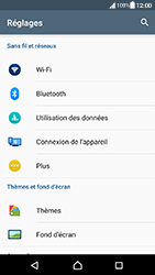 Sony Xperia XA - Android Nougat - WiFi et Bluetooth - Configuration manuelle - Étape 4