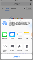 Apple iPhone 8 - Dados - Como utilizar o web browser -  17