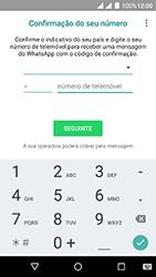 Wiko Fever 4G - Aplicações - Como configurar o WhatsApp -  6