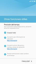 Samsung Galaxy S6 - Android Nougat - Primeros pasos - Activar el equipo - Paso 14