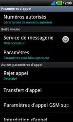 LG P920 Optimus 3D Speed - Messagerie vocale - Configuration manuelle - Étape 5