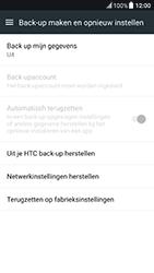 HTC 10 - Android Nougat - Toestel reset - terugzetten naar fabrieksinstellingen - Stap 5