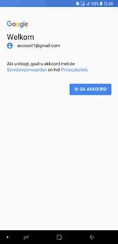 Samsung Galaxy A8 Plus - E-mail - handmatig instellen (gmail) - Stap 12