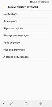 Samsung Galaxy A8 (2018) - SMS - configuration manuelle - Étape 6