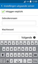 Samsung Galaxy J1 (J100H) - E-mail - Account instellen (IMAP zonder SMTP-verificatie) - Stap 12
