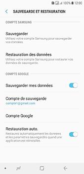 Samsung Galaxy A6 - Données - créer une sauvegarde avec votre compte - Étape 11